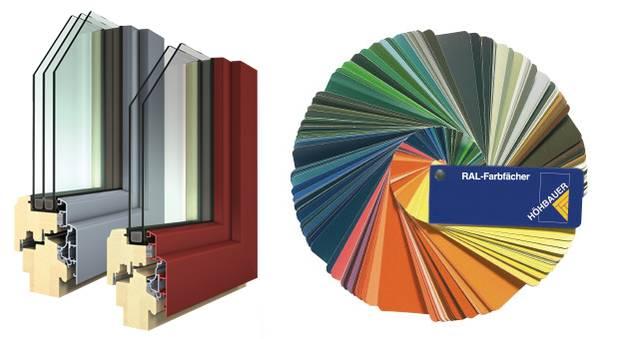 Kunststofffenster farben  Farbenvielfalt | HÖHBAUER
