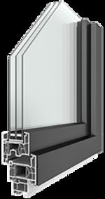 Lunea-Kunststoff-Alu-Fenster