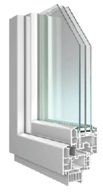 SOLEO Kunststoff-Fenster