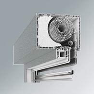 Vorsatz-/Aufsatzrollos & Textilscreens