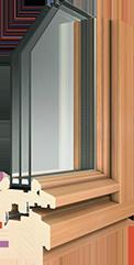 Holz-Fenster-Auria-Stil