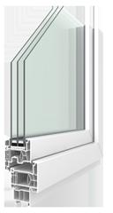 Lunea-Kunststoff-Fenster