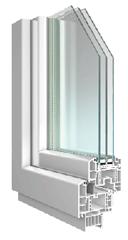 Soleo-Kunststoff-Fenster